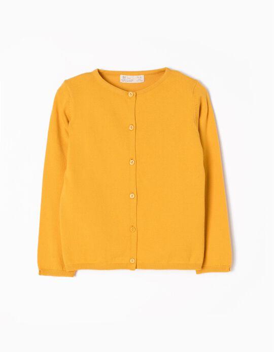 Casaco de Malha Amarelo