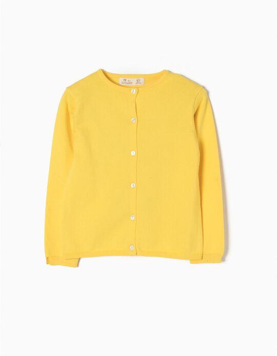 Chaqueta de Punto Yellow