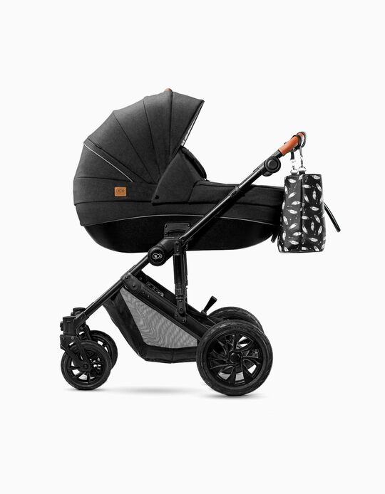 Trio Prime 2020 Travel System, Kinderkraft, Black