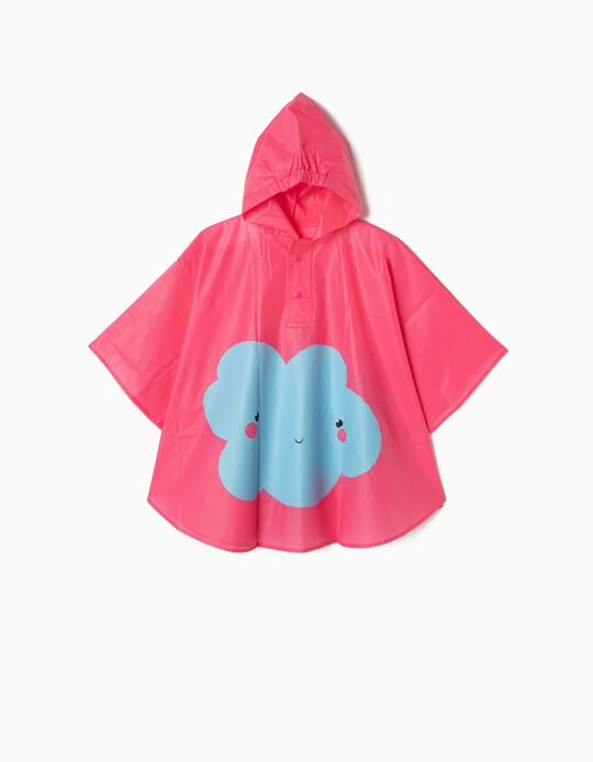 Capa de Chuva para Menina 'Cloud', Rosa