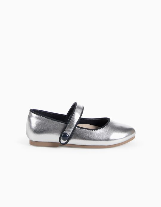 Metallic Ballerinas for Baby Girls