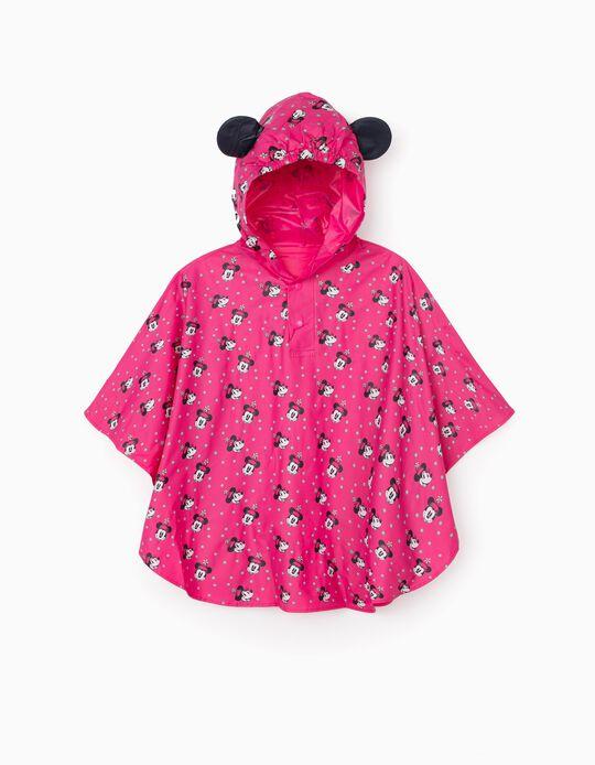Poncho Impermeable para Niña 'Minnie', Rosa