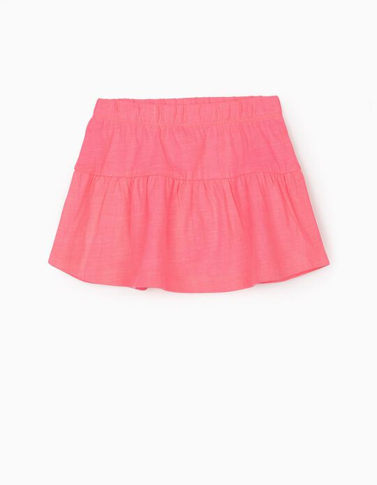 Jersey Knit Skirt for Baby Girls, Pink
