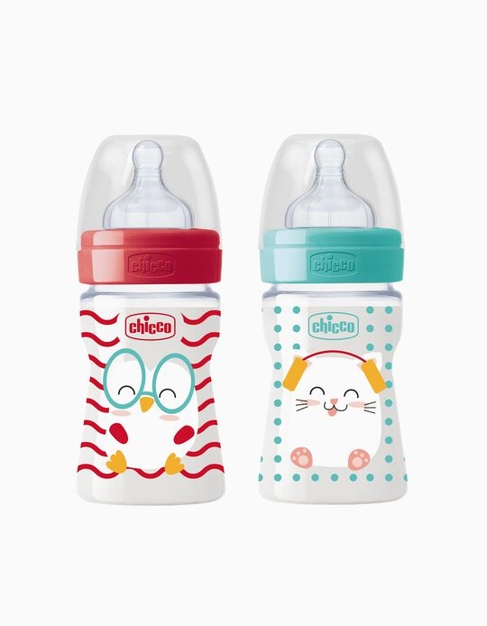 Biberão 150ml Popfriends Chicco Sortido