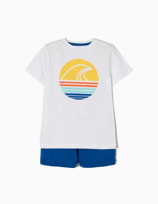 Conjunto de Camiseta y Short Olas