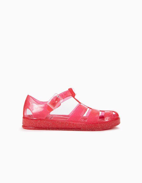 Sandalias Brillantes para Niña 'ZY Jellyfish', Rosa