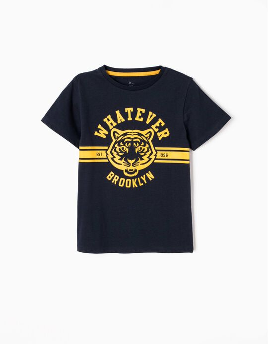 Camiseta Whatever Brooklyn Azul