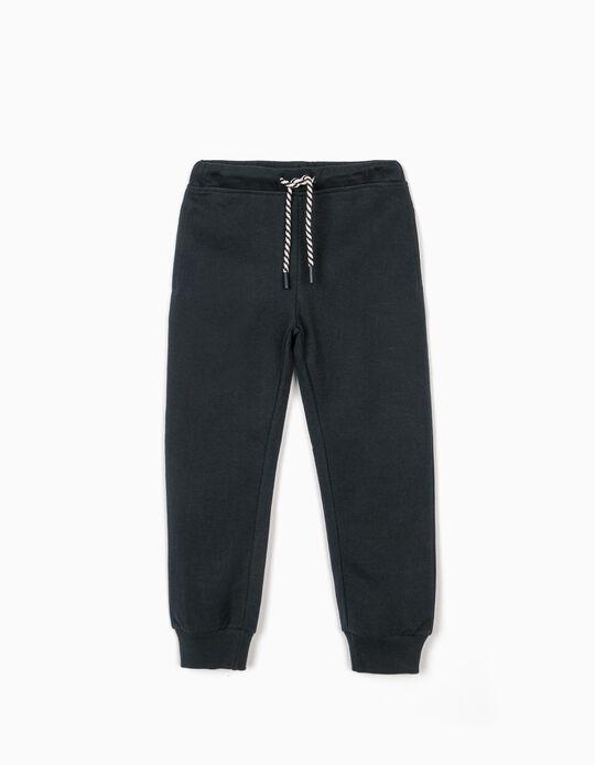 Pantalón de Chándal para Niña, Azul Oscuro