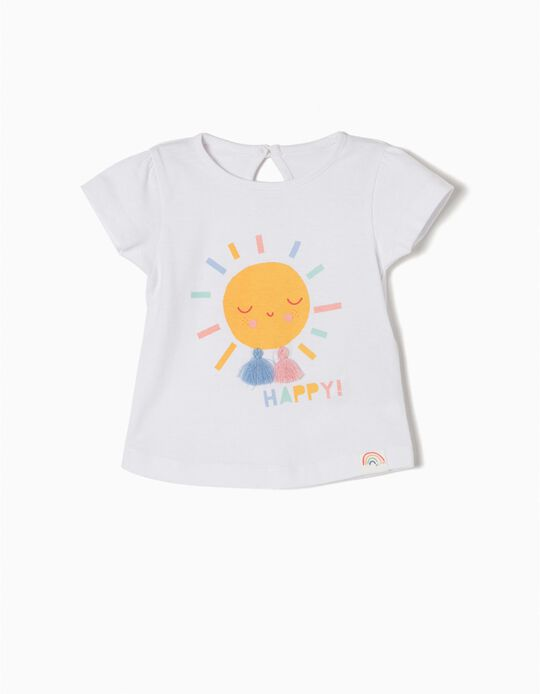 Camiseta de Manga Corta Happy