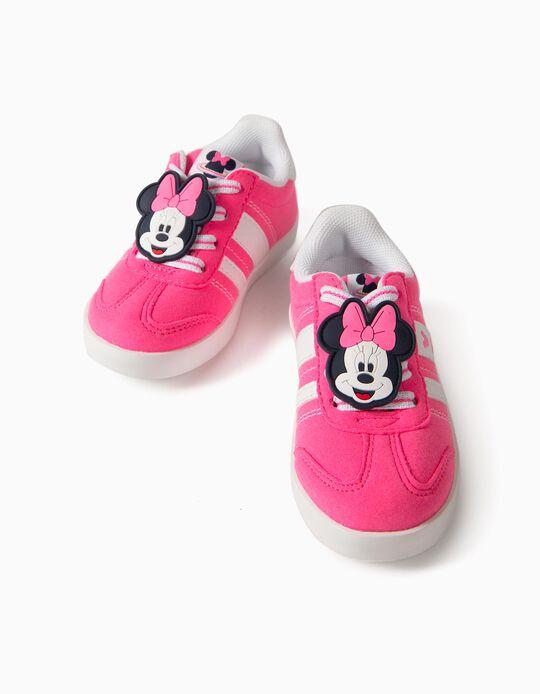 Sapatilhas para Bebé Menina 'Minnie ZY Retro', Rosa