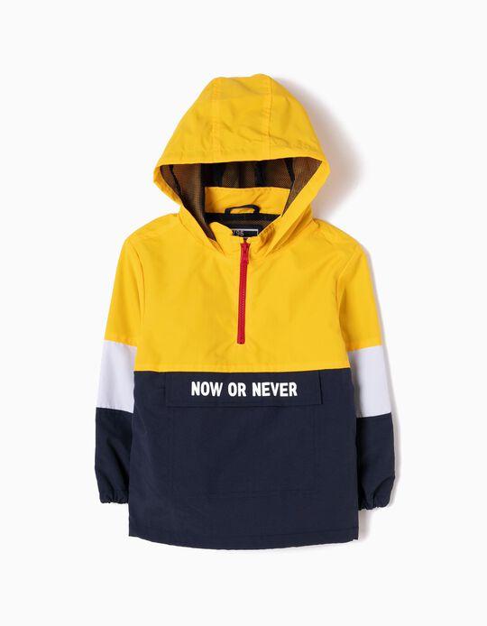 Parka Pullover Dobrável Now or Never
