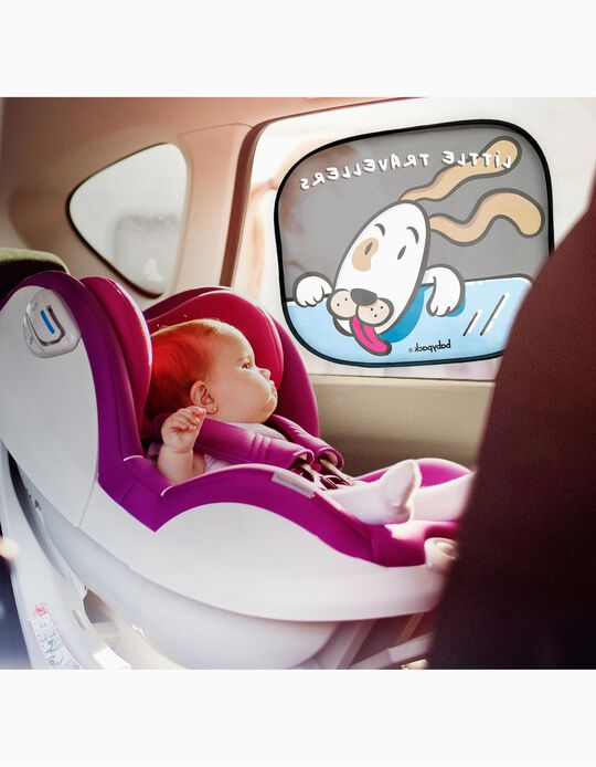 Self-Adhesive Window Shade by Babypack