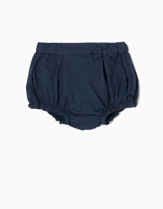Short con Lacito Azul