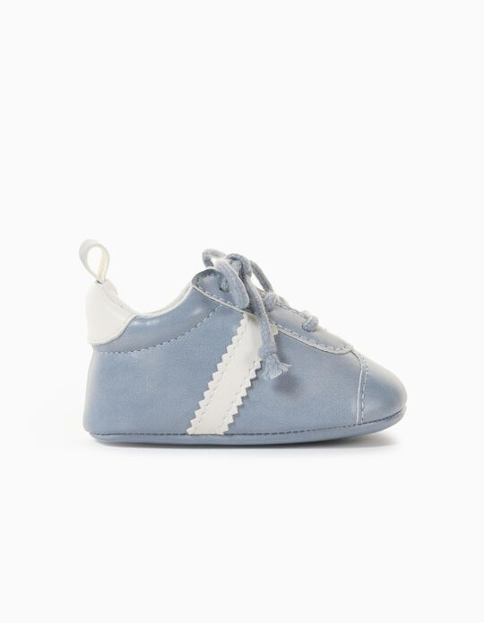 Zapatillas Recién Nacido 'Retro', Azul