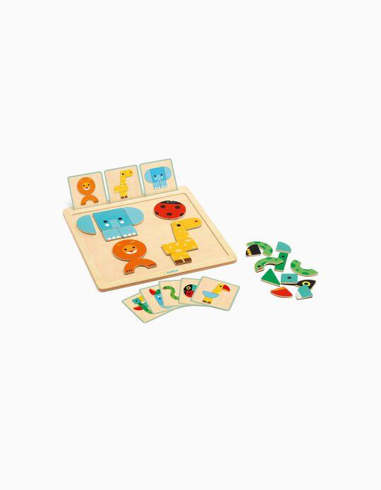 Juego Magnético Djeco 24 piezas