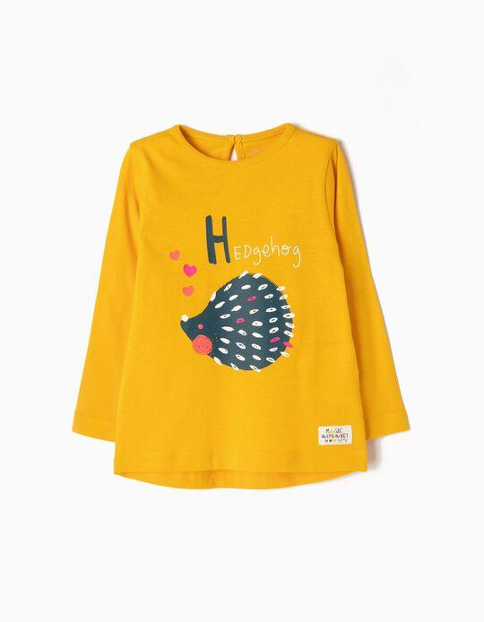 T-shirt Manga Comprida Hedgehog