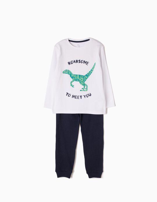 Pijama Manga Comprida e Calças Roarsome