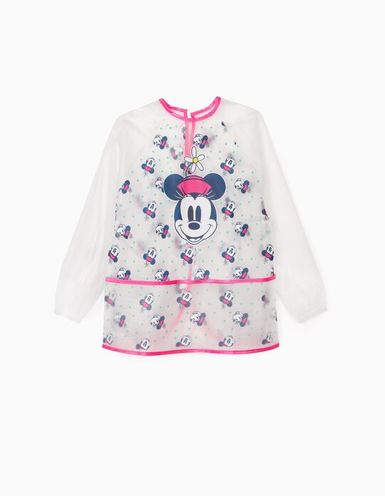 Bata impermeable para Niña 'Minnie', Transparente/Rosa