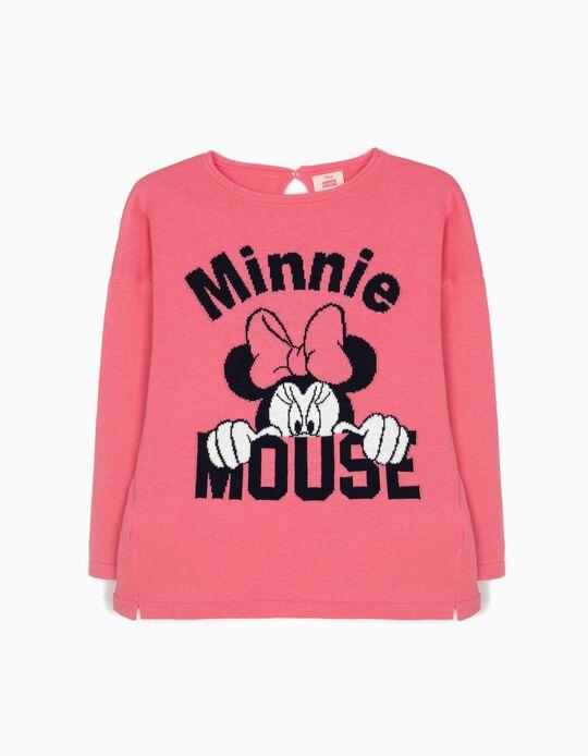 Camisola de Malha Minnie Rosa