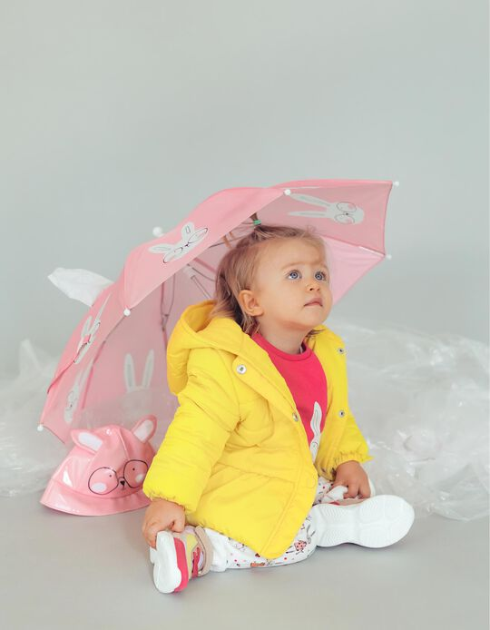Umbrella for Girls 'Bunny', Pink