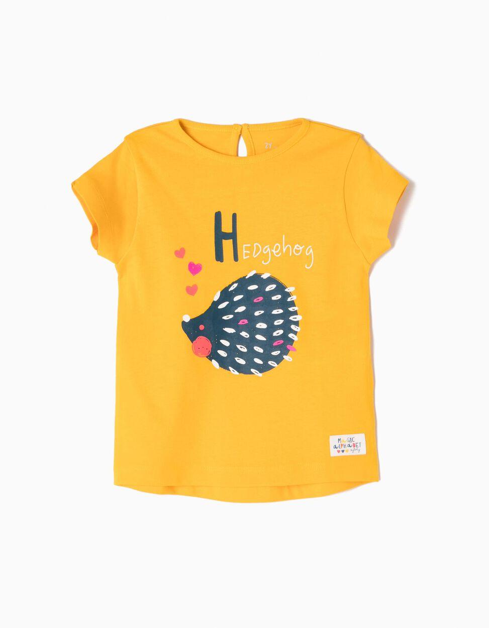 Camiseta estampada Hedgehog