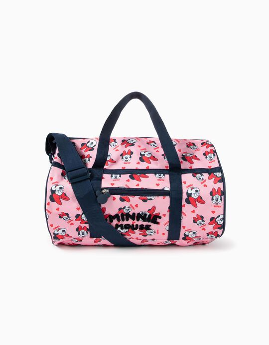 Sac de sport 'Minnie' fille, rose