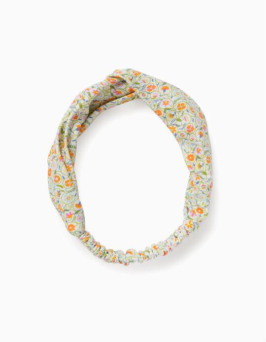 Hairband for Girls, 'Flowers', Multicoloured