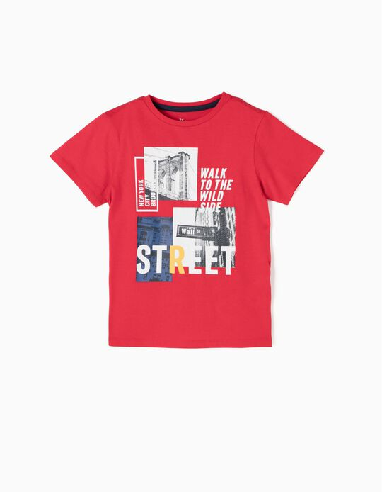 Camiseta NYC Roja