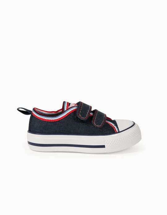 Trainers for Babies, '50s Sneaker', Dark Blue