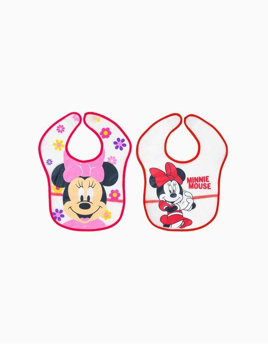 2 Babetes Impermeável Minnie Disney
