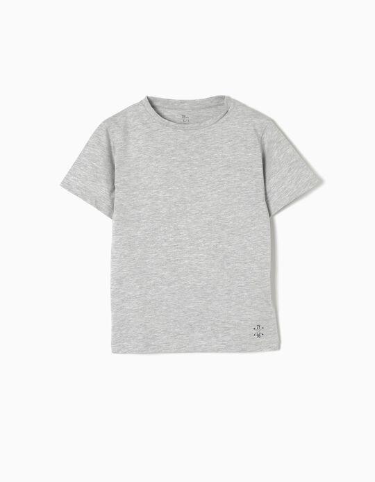Camiseta de Punto Grey