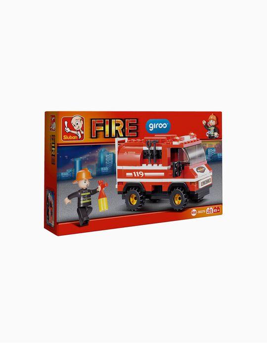 Fire Engine Sluban, 133 pcs