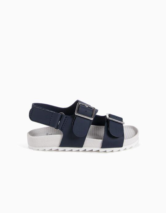 Sandalias Azules BS