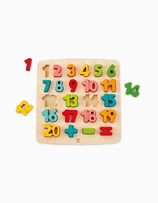Puzzle Números Hape