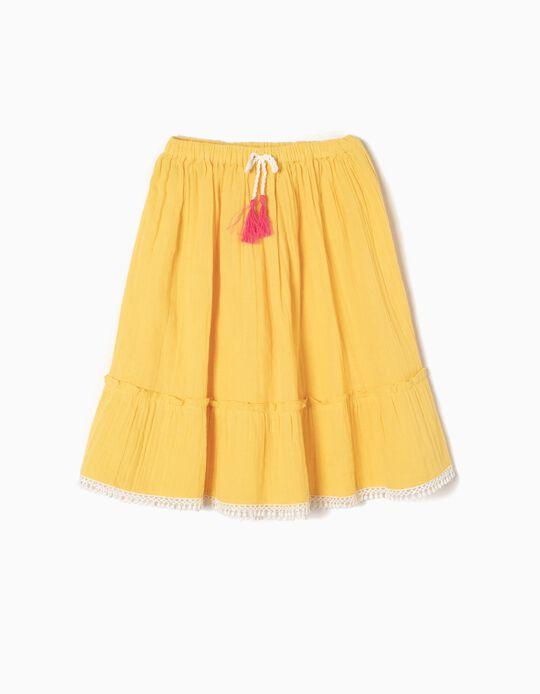 Saia Comprida Amarela