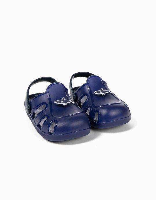 Sandálias para Menino 'Shark', Azul