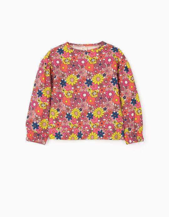 Sweatshirt para Menina 'ZY Girl Power', Rosa