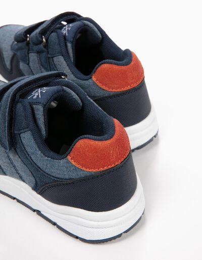 Zapatillas Azules de Dos Materias
