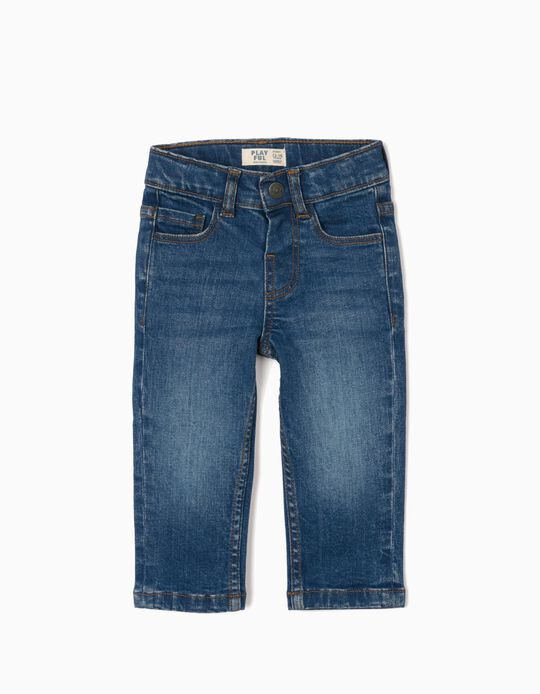 Jeans for Baby Boys, 'Comfort Denim', Blue