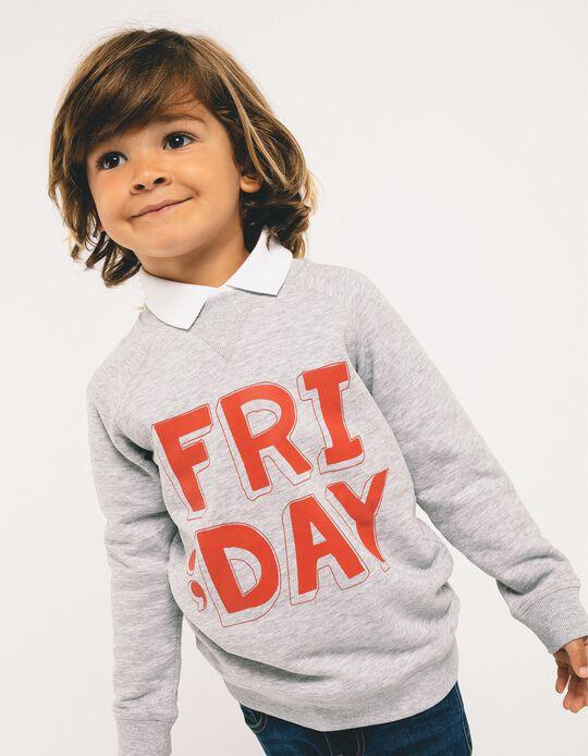 Sudadera para Niño 'Friday', Gris