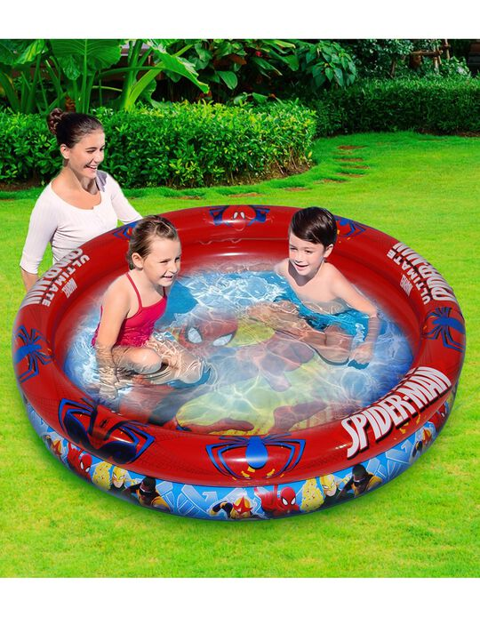 Inflatable Pool By Spiderman