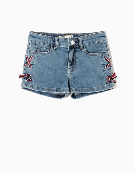 Short Vaquero con Lacitos