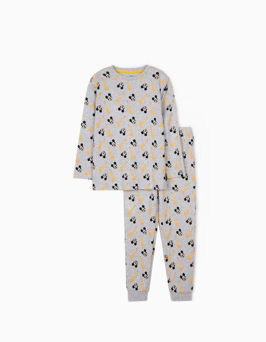 Pijama para Niño 'Mickey & Jirafas', Gris