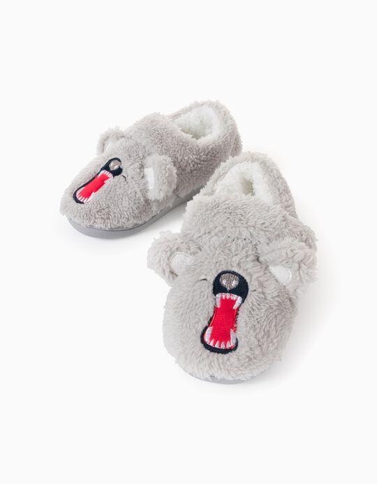 Zapatillas de Casa para Niño 'Sharp Teeth', Gris