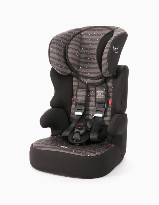 Car Seat Gr 1/2/3 Izzygo Plus Zy Safe Stars Black
