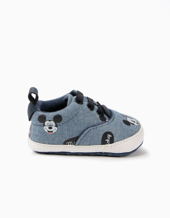 Zapatillas Pre-Walker Mickey Azul