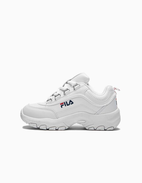 Trainers Chunky for Kids 'Fila Strada', White