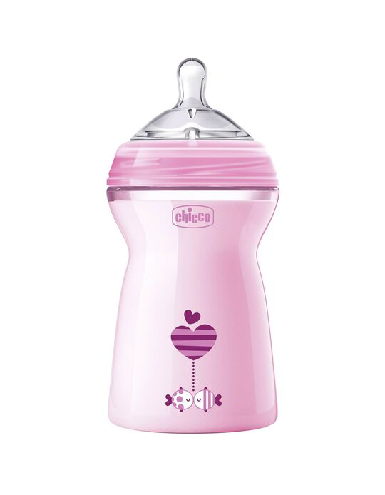 Feeding Bottle Naturalfeeling 330ml 6M+ Chicco