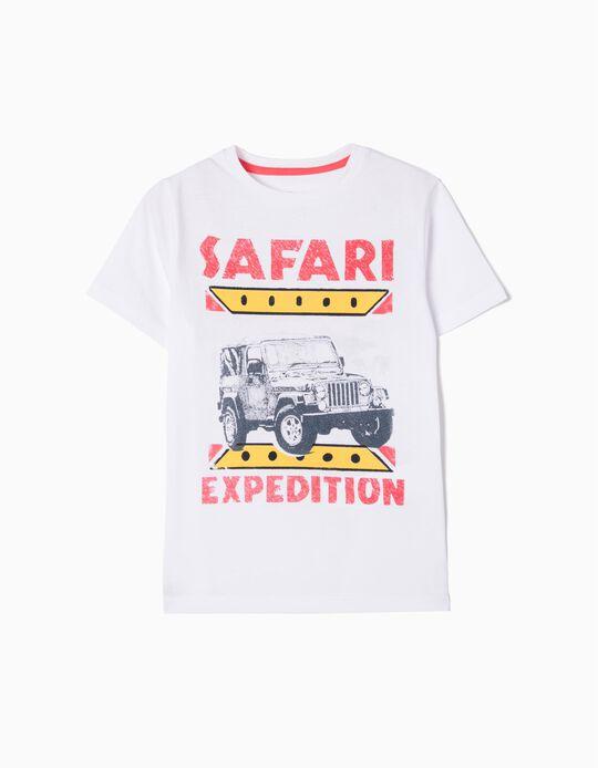 T-shirt Safari Expedition Anti-Mosquito