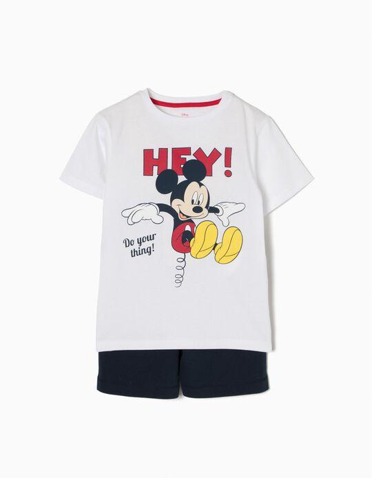 Conjunto T-shirt e Calções Mickey Mouse